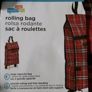 Honey Can Do Folding Roll up Bag
